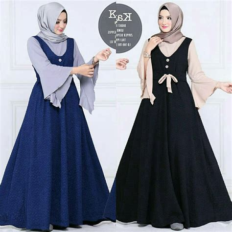 baju muslim terbaru dress grosir baju muslim