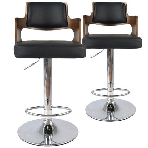 chaises de bar vintage carr 233 lot de 2 pas cher d 233 co