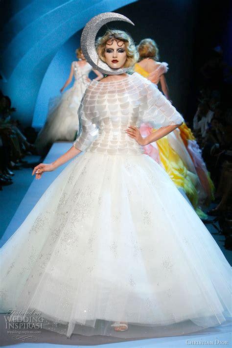 christian dior fall   couture wedding inspirasi