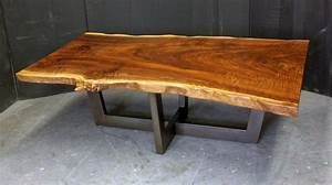 dorset custom furniture a woodworkers photo journal a With small live edge coffee table