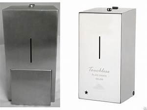 Washroom Hygiene Stainless Steel Liquid Soap Dispenser