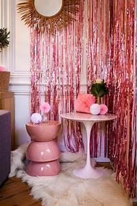 Rideau Rose Gold : d co baby shower bapt me anniversaire evjf rideaux de franges d co design chambre b b ~ Teatrodelosmanantiales.com Idées de Décoration