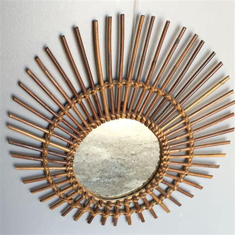 miroir en rotin miroir soleil en rotin lignedebrocante brocante en ligne chine pour vous meubles vintage et