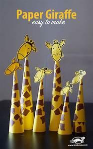 krokotak Paper Giraffes – so easy to make