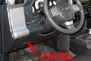 Fuse Box Diagram Toyota Fj Cruiser  2006