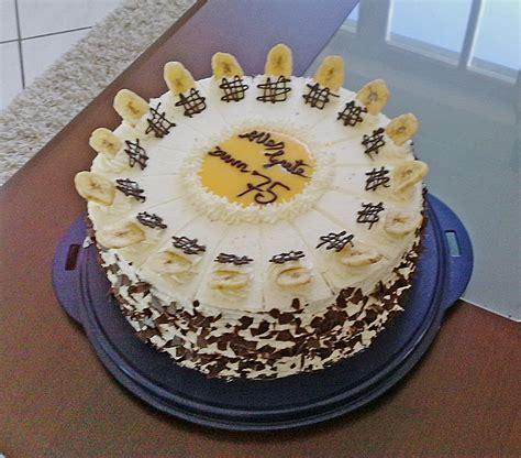 bananen eierlikoer torte von diana chefkochde