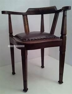 Antike Stühle Jugendstil : antiker eckstuhl schreibtischstuhl jugendstil leder ~ Michelbontemps.com Haus und Dekorationen
