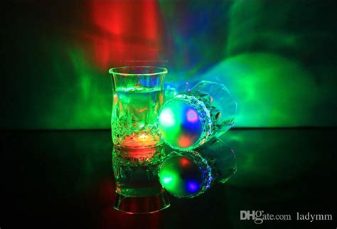 Led Party Drinking Glasses Drinkware Flashing Small Led