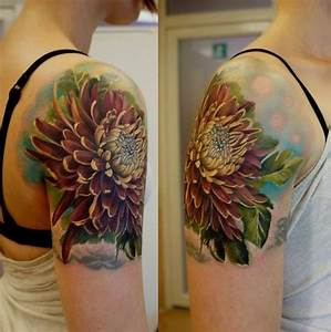 43+ Wonderful Chrysanthemum Tattoos