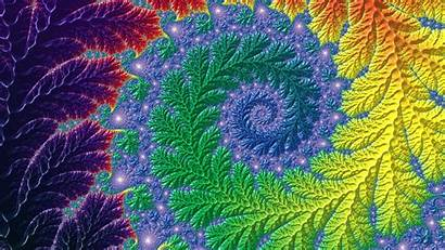 Fractal Spiral Patterns 3d Twisted Abstract 1080p