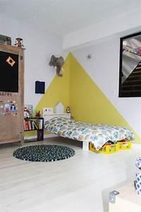 chez camille ameline nanelle chambre d39enfant kid room With idee peinture chambre enfant