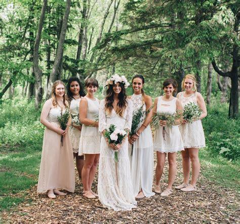 Bohemian Backyard Wedding by Bohemian Backyard Wedding In Milwaukee Rea Danny