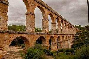 Acueducto, Romano, De, Tarragona, O, Puente, Del, Diablo