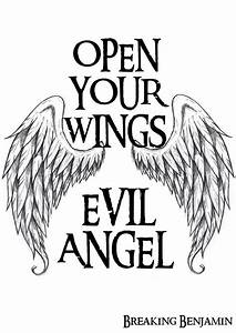 Evil Angel Brea... Angel And Evil Quotes