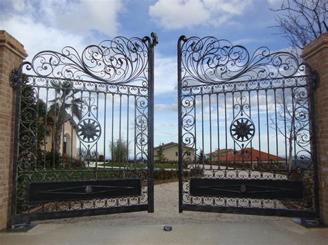 Wrought Iron Gates Securing Your Home In Style Interior
