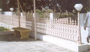 Compound wall railing cast iron for