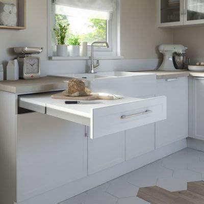 table cuisine extensible kit tiroir plan de travail topflex castorama