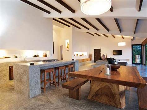 modern tropical kitchen design minimalist tropical interior design with simple d 233 cor ideas 7779