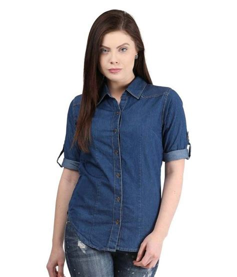 Buy MDS Jeans Denim Shirt Online at Best Prices in India ...
