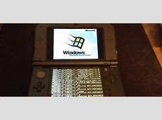 Someone Just Hacked A Nintendo 3DS To Install Windows 95