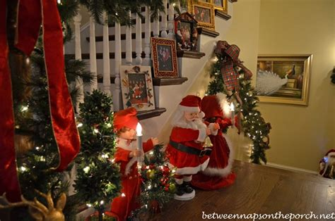 governor roy and marie barnes home decorated for christmas