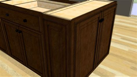 How To Make A Kitchen Island With Base Cabinets by Design An Island With Wall Cabinet Ends