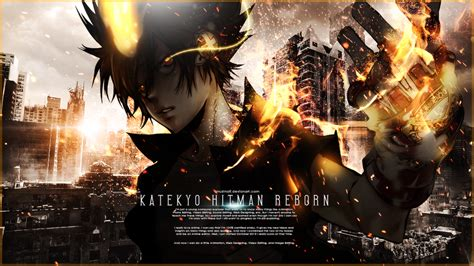 Reborn Anime Wallpaper - katekyo hitman reborn wallpaper by muztnafi on deviantart