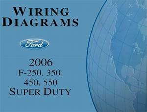 1996 Ford F250 Electrical Wiring Diagrams Manual Xl Super