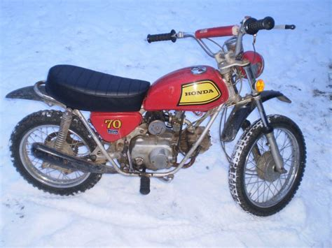 Other 1972 Honda Sl 70 Vintage Trail Bike Cb Ct Sl