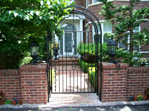 wrought iron arbor with gate wrought iron arbor with gate outdoor decorations 1966