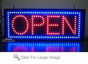 Outdoor LED Open Sign only $429 99 Neon Open Signs