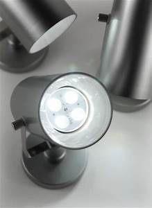 Led Spots Mit Batterie : 3 led e swivel spotlyte ultra white by acolyte ~ Frokenaadalensverden.com Haus und Dekorationen