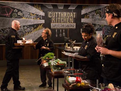 top moments  cutthroat kitchen superstar sabotage heat  cutthroat kitchen food network
