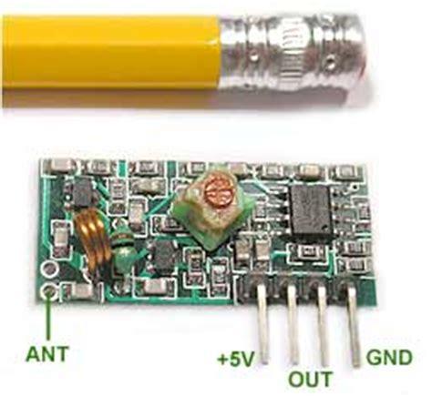 Mhz Receiver Module Electronics Diy