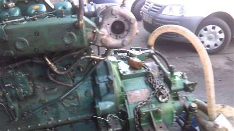 volvo penta marine diesel engine  twin disc