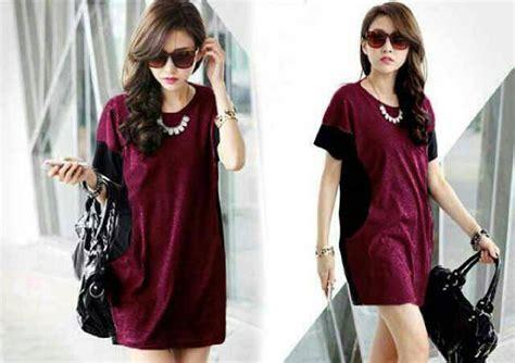 mini dress santai warna soft info baju mini dress cantik model terbaru murah