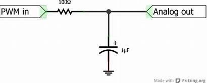 Pwm Analog Arduino Converter Voltage Number Czy