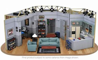 Seinfeld Replica Apartment Tv Jerry Living Order