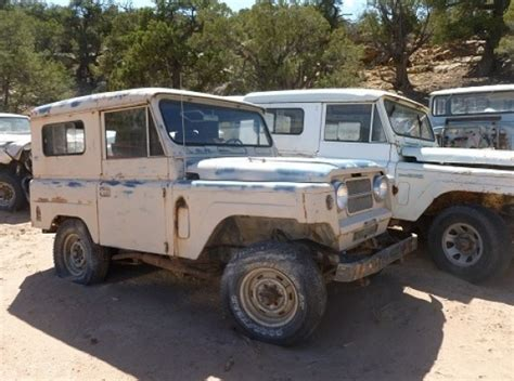 Datsun Patrol For Sale by Nine Of A Utah Nissan Patrol Graveyard Bring A Trailer