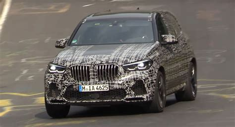2020 Bmw X5 M Bravely Attacks Apexes During Track Testing