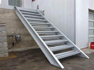 Exterior Steel Stair Railing