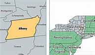 Albany County, New York / Map of Albany County, NY / Where ...