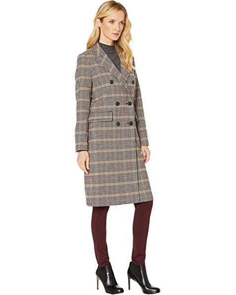 LAUREN Ralph Lauren Plaid Wool Coat   The Style Room ...