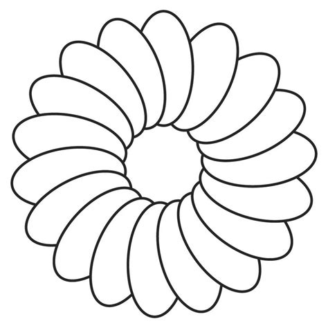 outline pictures of flowers for colouring outlines of flowers az coloring pages