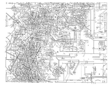 drawing  drawings  daniel libeskind