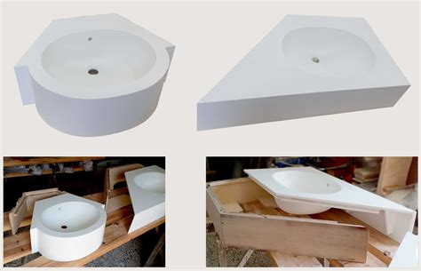 Lavabo Bagno Corian Arco Arredo Design In Dupont Corian 174 Lavabi Da