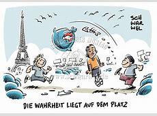 FUSSBALL Schwarwel Karikatur