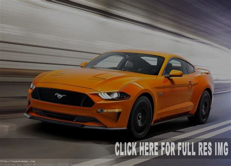 2020 Ford Mustang Gt by 2020 Ford Mustang Gt Redesign And Changes 2019 Auto Suv