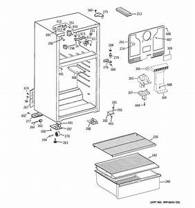 Cabinet Diagram  U0026 Parts List For Model Htr16absdlww