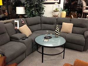 Sectional sofa wonderful grey reclining sectional sofa for Sectional sofas with 4 recliners